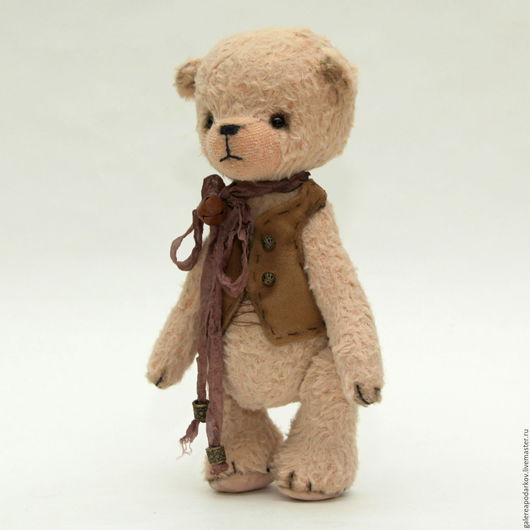 Мишки Тедди ручной работы. Ярмарка Мастеров - ручная работа. Купить Ганс. Handmade. Бежевый, медведь, немецкая вискоза