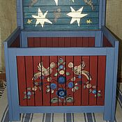 Для дома и интерьера handmade. Livemaster - original item Chest for the children`s room