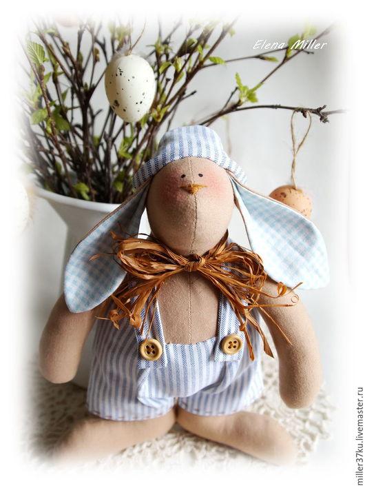 Куклы Тильды ручной работы. Ярмарка Мастеров - ручная работа. Купить Tilda.Толстый кролик))). Handmade. Комбинированный, текстильный кролик
