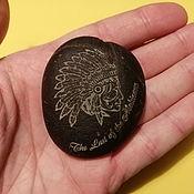 Камни ручной работы. Ярмарка Мастеров - ручная работа Лазерная гравировка на камне, сувенир из камня, подарок. Handmade.