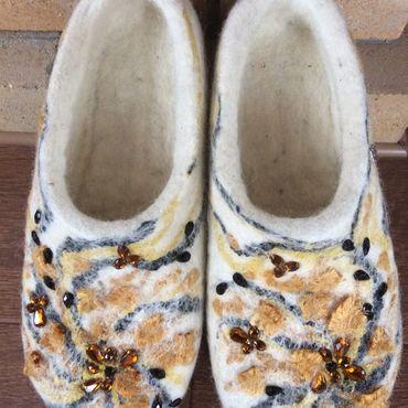 """Обувь ручной работы. Ярмарка Мастеров - ручная работа """"Янтарный свет"""". Handmade."""