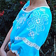 Платья ручной работы. Очаровательное платье с вышивкой. СЛАВный стиль от Заряны. Ярмарка Мастеров. Одежда из льна, женская рубаха