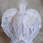 Подарки к праздникам ручной работы. Ярмарка Мастеров - ручная работа Рождественский ангел. Handmade.