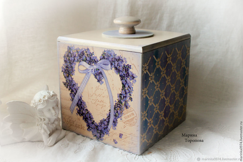 Big box storage ' Lavender time', Utensils, Krasnoyarsk,  Фото №1
