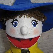 Куклы и игрушки ручной работы. Ярмарка Мастеров - ручная работа Незнайка . Кукла на руку . Маппет.. Handmade.