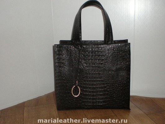 Женские сумки ручной работы. Ярмарка Мастеров - ручная работа. Купить Сумка-пакет кожаный. Handmade. Кожа натуральная
