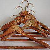 Для дома и интерьера ручной работы. Ярмарка Мастеров - ручная работа Вешалка - плечики для одежды  С налетом времени - 2. Handmade.