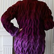 Одежда ручной работы. Ярмарка Мастеров - ручная работа Кардиган с косами. Handmade.