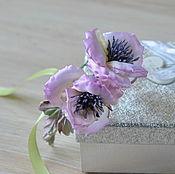 Украшения handmade. Livemaster - original item A wreath of silk flowers in her hair