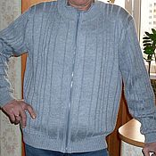 Одежда handmade. Livemaster - original item Cardigan with zipper closure. Handmade.