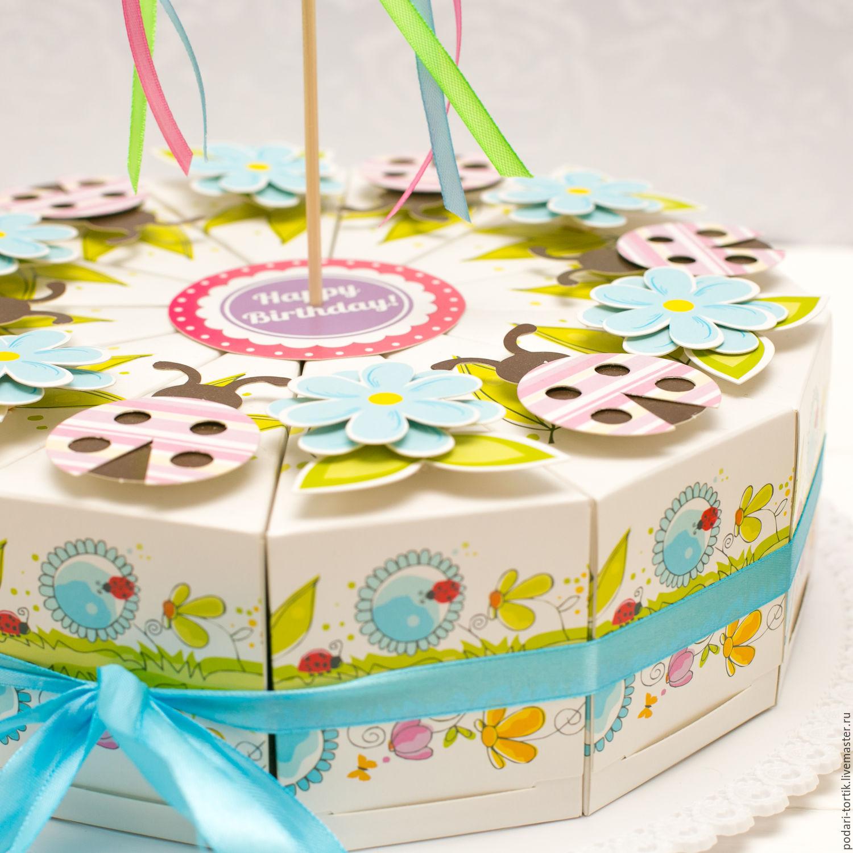 Торт подарок картон своими руками фото 897