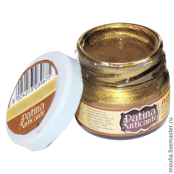Паста для созд патин эффекта Patina Anticante STAMPERIA, арт K3P16 G  золото 10/0
