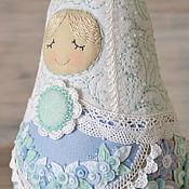 Куклы и игрушки ручной работы. Ярмарка Мастеров - ручная работа матрешка ЗИМА. Handmade.
