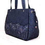 Сумки и аксессуары handmade. Livemaster - original item Classic bag: The poppy night. Handmade.