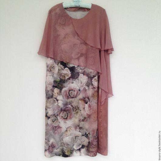 Платья ручной работы. Ярмарка Мастеров - ручная работа. Купить Пудровые Розы (платье). Handmade. Бледно-розовый, торжественный свадебный