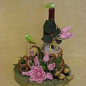 """Цветы и флористика ручной работы. Ярмарка Мастеров - ручная работа Композиция """"Весне дорогу"""". Handmade."""