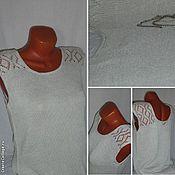 Одежда handmade. Livemaster - original item Top Pearl. Handmade.
