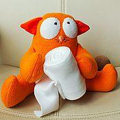 Куклы и игрушки ручной работы. Ярмарка Мастеров - ручная работа кот LegCat. Handmade.
