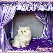 """Для домашних животных, ручной работы. Ярмарка Мастеров - ручная работа """"Сиреневый туман"""" Оформление выставочной палатки. Handmade."""