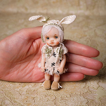Dolls & toys handmade. Livemaster - original item Miniature doll 1:12. Handmade.