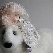 Куклы и игрушки handmade. Livemaster - original item The Norwegian tale. Handmade.