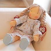 Куклы и игрушки ручной работы. Ярмарка Мастеров - ручная работа Вальдорфская куколка Незабудка. Handmade.