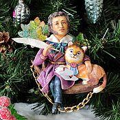 Сувениры и подарки handmade. Livemaster - original item Cotton Christmas tree toy