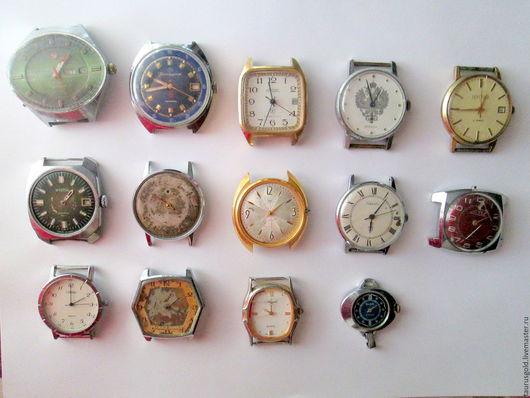 Другие виды рукоделия ручной работы. Ярмарка Мастеров - ручная работа. Купить Часовые механизмы, корпуса наручных часов, шестерни. Handmade.