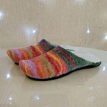 Обувь ручной работы. Ярмарка Мастеров - ручная работа Мюли ручной валки (подшитые). Handmade.