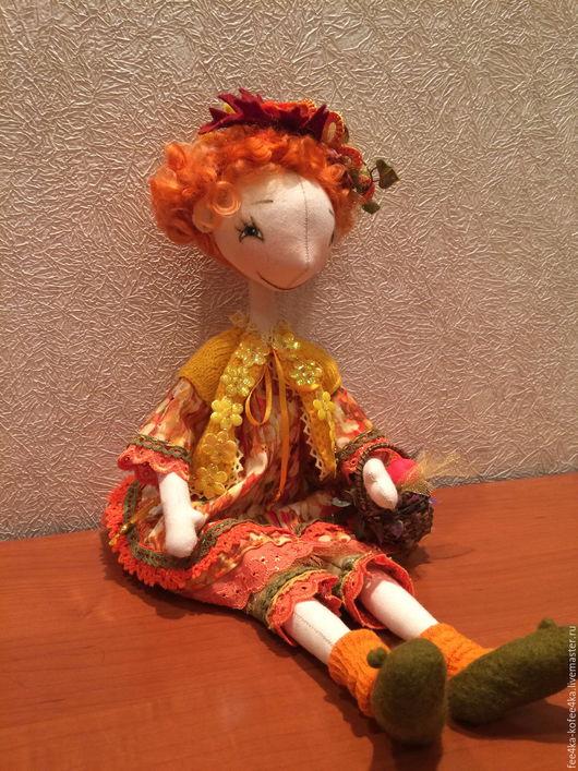 Коллекционные куклы ручной работы. Ярмарка Мастеров - ручная работа. Купить Кукла Осенняя карусель. Handmade. Кукла на заказ, кружева