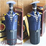 Сувениры и подарки handmade. Livemaster - original item Personalized Souvenirs: An original Gift to a man an officer a Sailor of the Navy. Handmade.