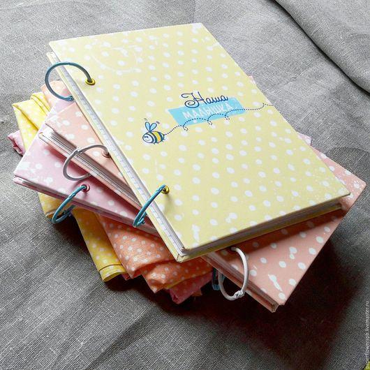Фотоальбомы ручной работы. Ярмарка Мастеров - ручная работа. Купить Альбом для девочки первого года жизни  до  6ти лет. Handmade.