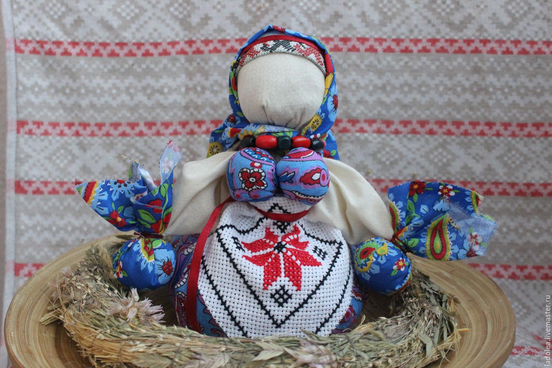 Славянские куклы. Делаем оберег на счастье и достаток 58
