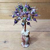 Цветы и флористика handmade. Livemaster - original item Trees: Amethyst tree