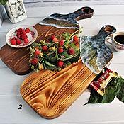 Для дома и интерьера handmade. Livemaster - original item Serving board for serving with sea made of epoxy resin. Handmade.