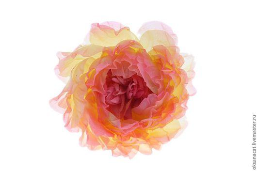 """Цветы ручной работы. Ярмарка Мастеров - ручная работа. Купить Цветы из ткани. Цветок """"Загадка"""". Handmade. Цветы, цветы из ткани"""