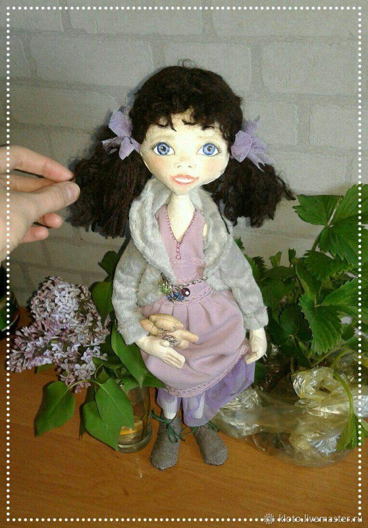 Текстильные интерьерные или портретные куколки, Куклы, Ялта, Фото №1