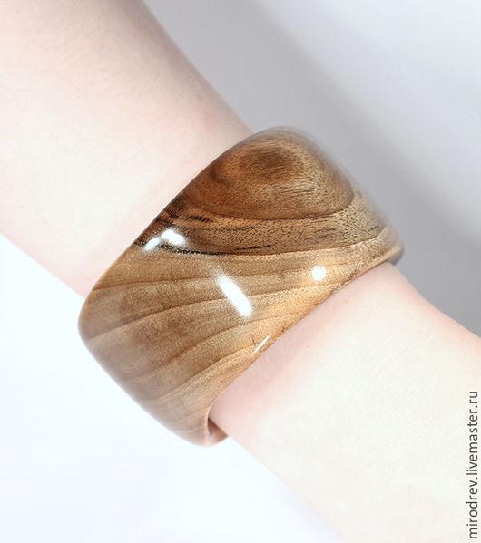 МироДрев, браслет из высокогорного тянь-шаньского ореха