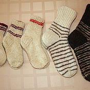 Одежда ручной работы. Ярмарка Мастеров - ручная работа Мужские носки. Handmade.