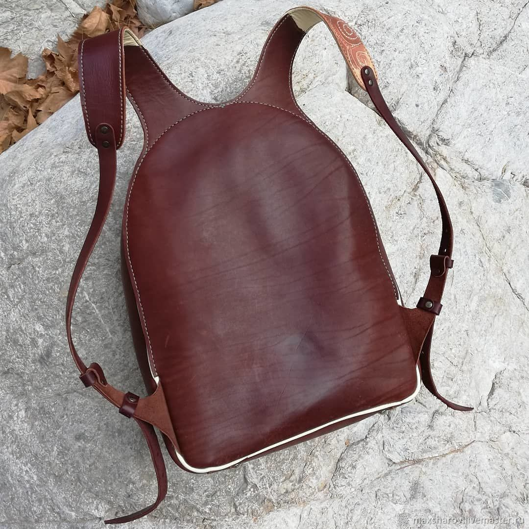 Backpack Leather handmade art FLEX, Backpacks, Moscow,  Фото №1