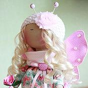 Куклы и игрушки ручной работы. Ярмарка Мастеров - ручная работа СКИДКА!!! Кукла-Бабочка забронирована. Handmade.