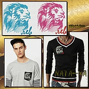 Материалы для творчества handmade. Livemaster - original item Lion. Two-tone. Handmade.