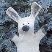 Куклы и игрушки ручной работы. Ярмарка Мастеров - ручная работа Зайка бибабо и Ко. Handmade.
