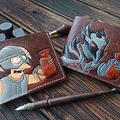 handmade. Livemaster - original item Wallet The Elder Scrolls Skyrim, shut up and take my money septims. Handmade.
