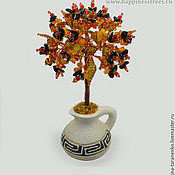 Цветы и флористика handmade. Livemaster - original item Tree of amber
