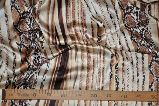 """Шитье ручной работы. Ярмарка Мастеров - ручная работа. Купить Шелк крепдешин """"Roberto Cavalli"""". Handmade. Ткани для одежды"""