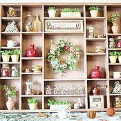 Для дома и интерьера handmade. Livemaster - original item Bon appetit Kitchen Shelf. Handmade.