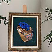 Картины и панно handmade. Livemaster - original item Scarab. World treasures. Artifacts.. Handmade.