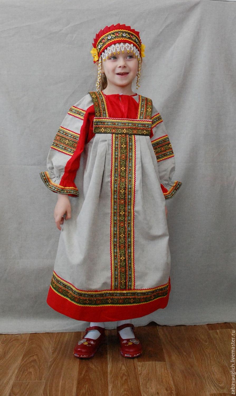 Русский сарафан мастер класс