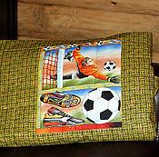 """Для дома и интерьера ручной работы. Ярмарка Мастеров - ручная работа Плед-покрывало """"Футбол-2"""". Handmade."""
